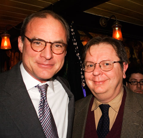 Jim and I at his book party on January 7th.