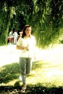 Susan Morrison, escaping the sun