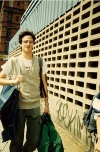 Future rock and arugula snob David Kamp