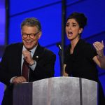 aSarah-Silverman-Al-Franken-share-unscripted-moment-of-unity-at-DNC
